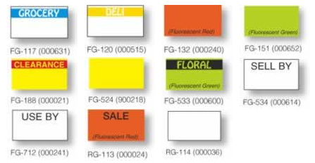 monarch 1131 pricing labels